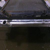 Замена пластикового бачка на алюминиевый 2