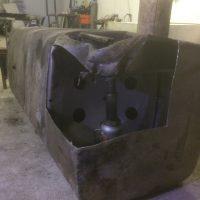 Ремонт топливного бака грузовика