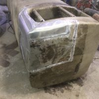 Ремонт топливного бака сварка алюминия