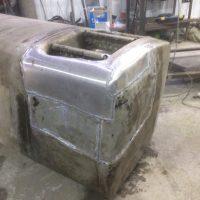 после ремонта бак грузового автомобиля