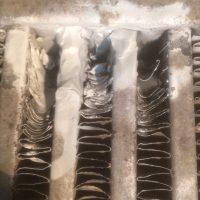 До и после ремонта потертости интеркулерв
