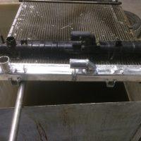 Замена пластиковых бачков на алюминиевые